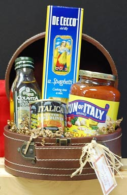 Italian-themed Gift Basket